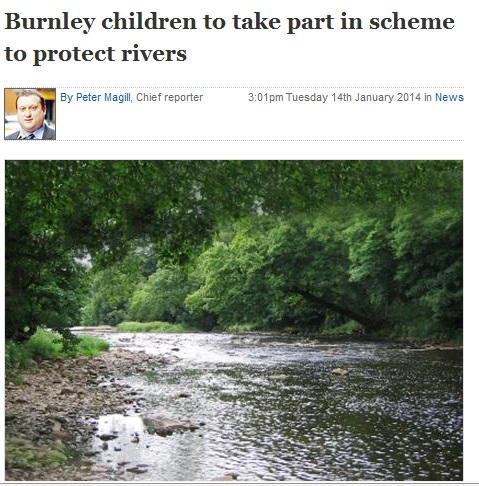 2014 January 14 Burnley children to take part in scheme to protect rivers.jpg