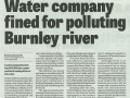 2014 Sept 26 Water company fined for polluting Burnley river.jpg
