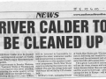 2000 June 6 River Calder to be cleaned up.jpg