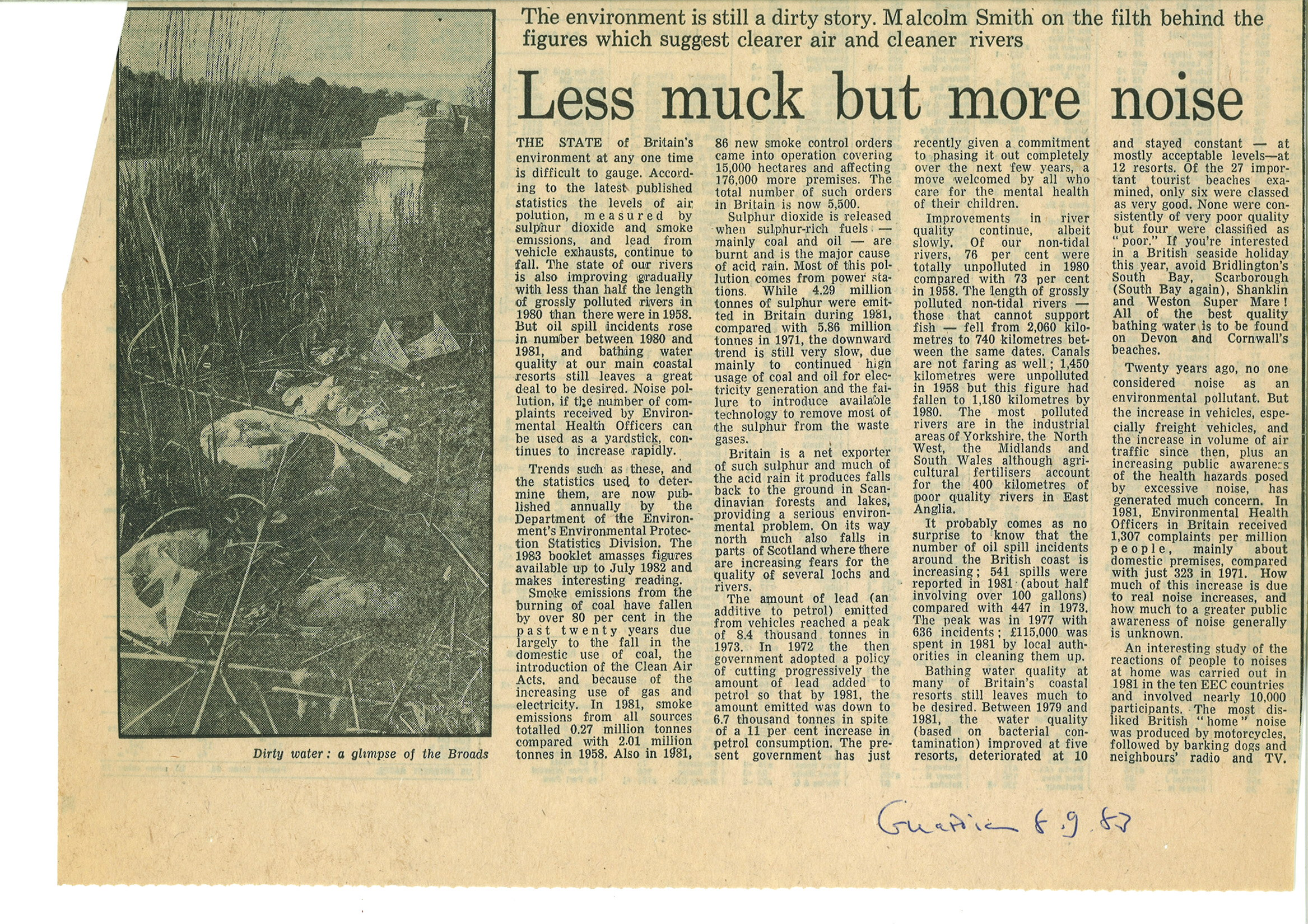 1983 Sep 8 Less muck but more noise.jpg