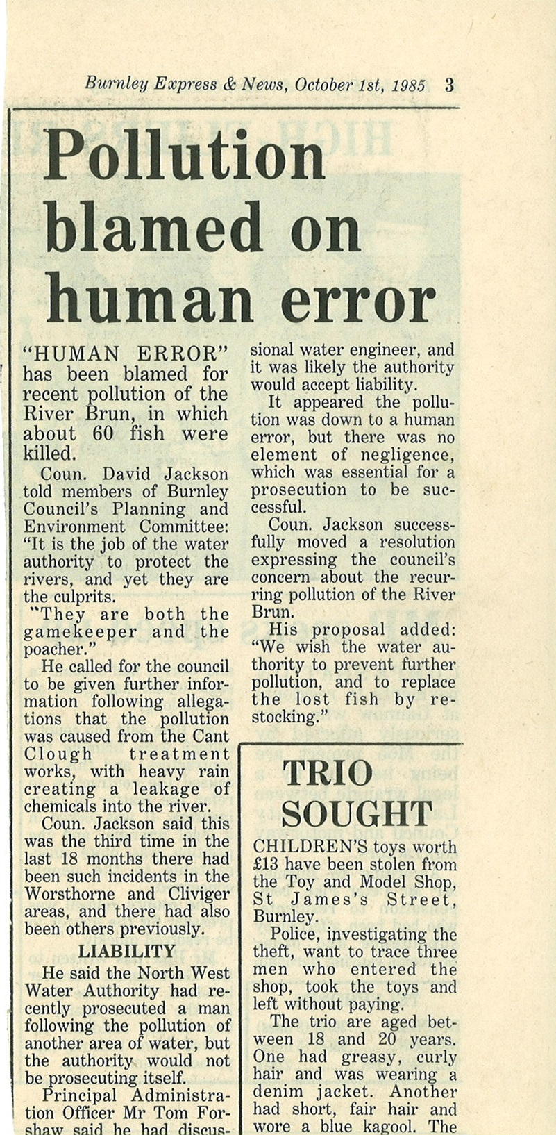 1985 October 1 Pollution blamed on human error.jpg