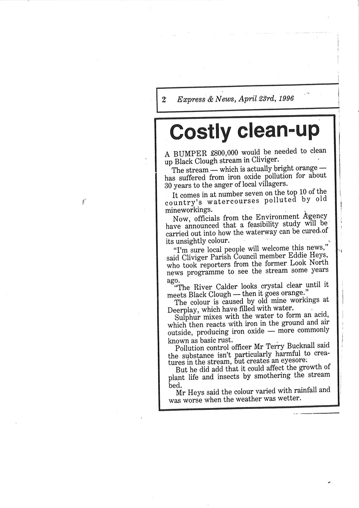 1996 April 23 Costly Clean-up.jpg