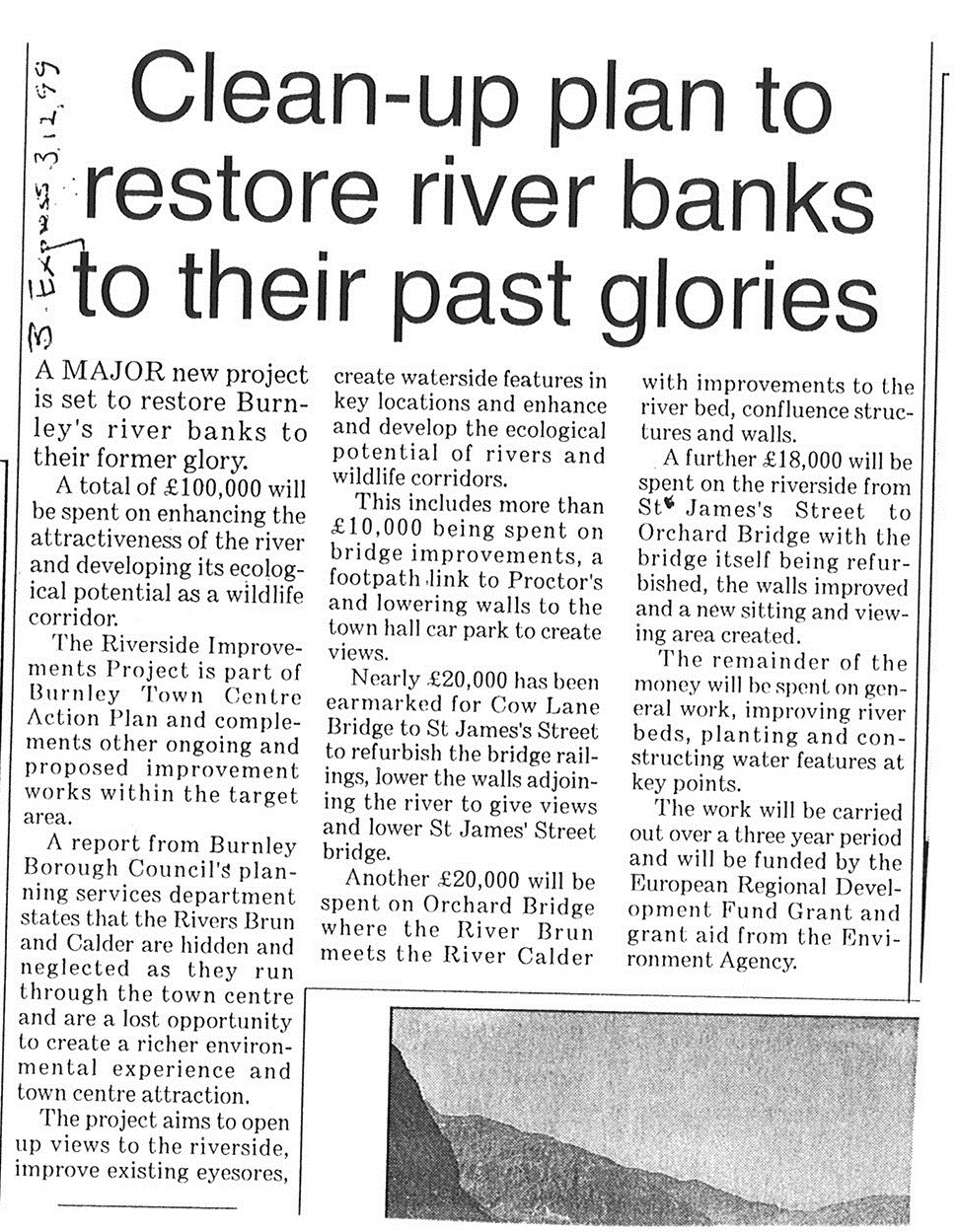1999 Dec 3 Clean-up plan to restore river banks to their past glories.jpg
