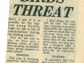 1985 May 17 Rowley birds threat.jpg
