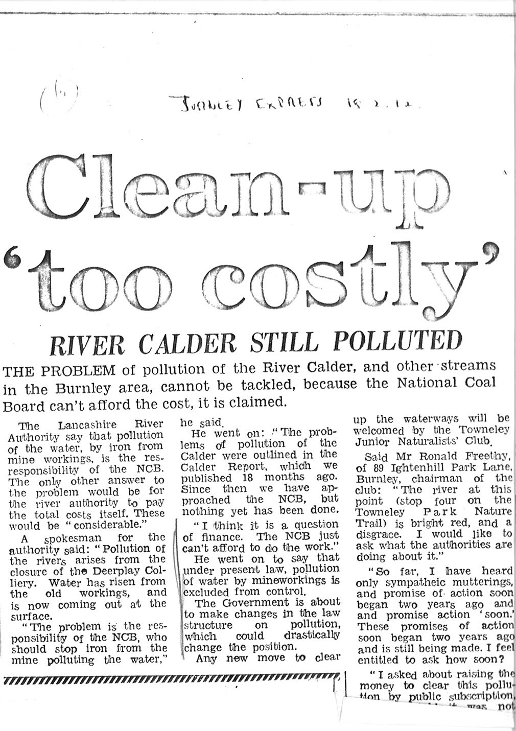 1972 Feb 18 Clean-up too costly river Calder still polluted.jpg
